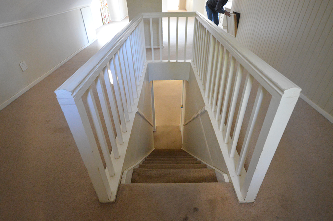 Staircase Before