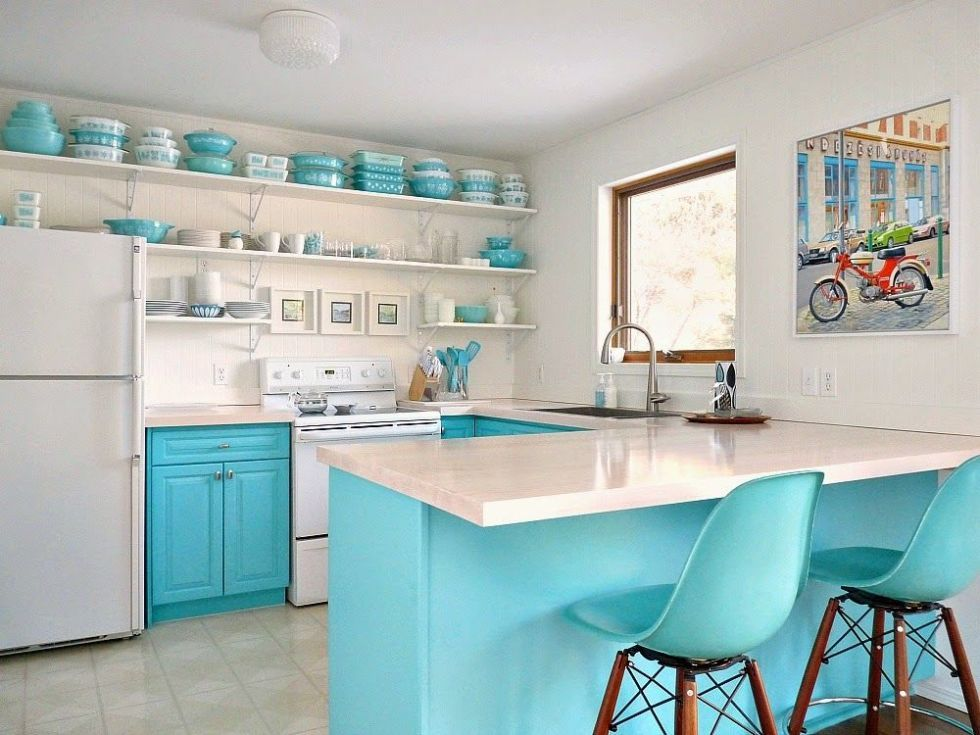 kitchen-blue