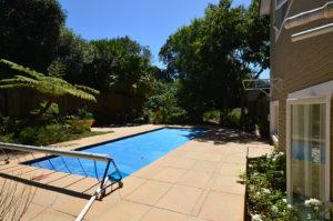 Re-shaped pool