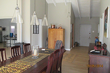Dining to Front Door After Renovation
