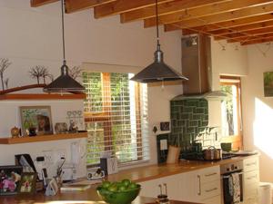 Kitchen ceiling detail