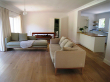 Open Plan Living After Renovation