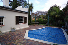 Pool & Garden Before