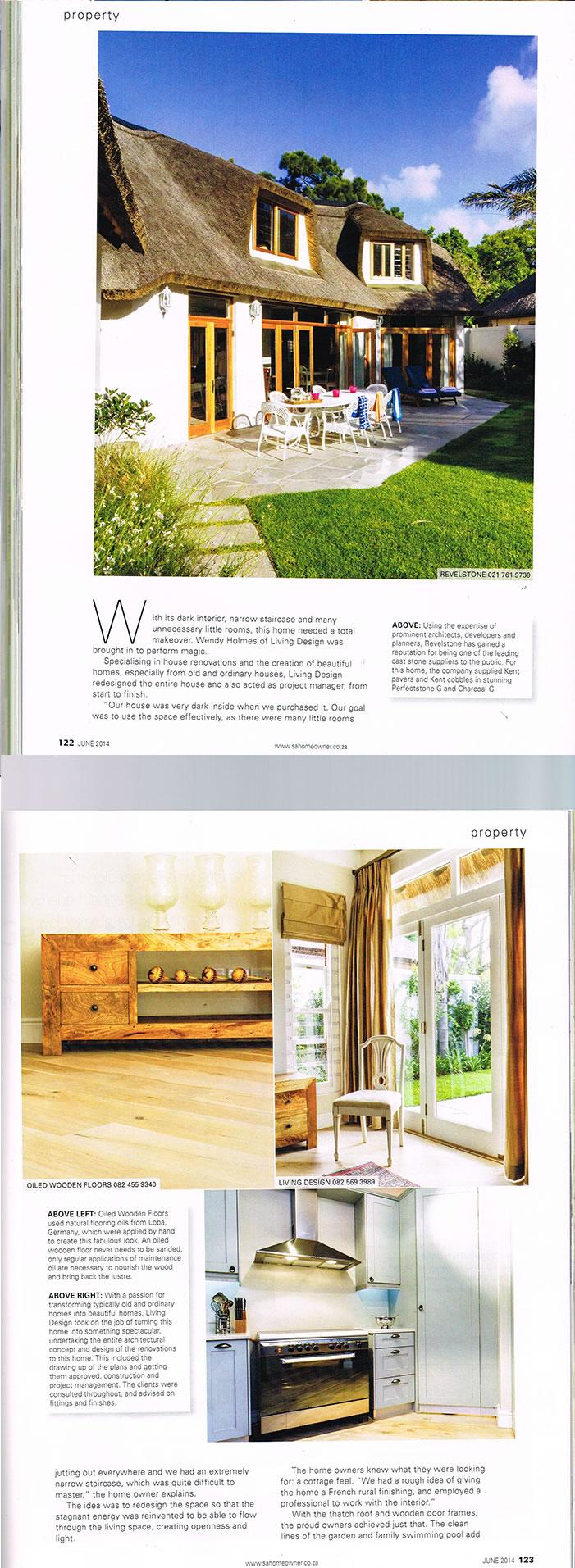 Living Design   Magazine Article