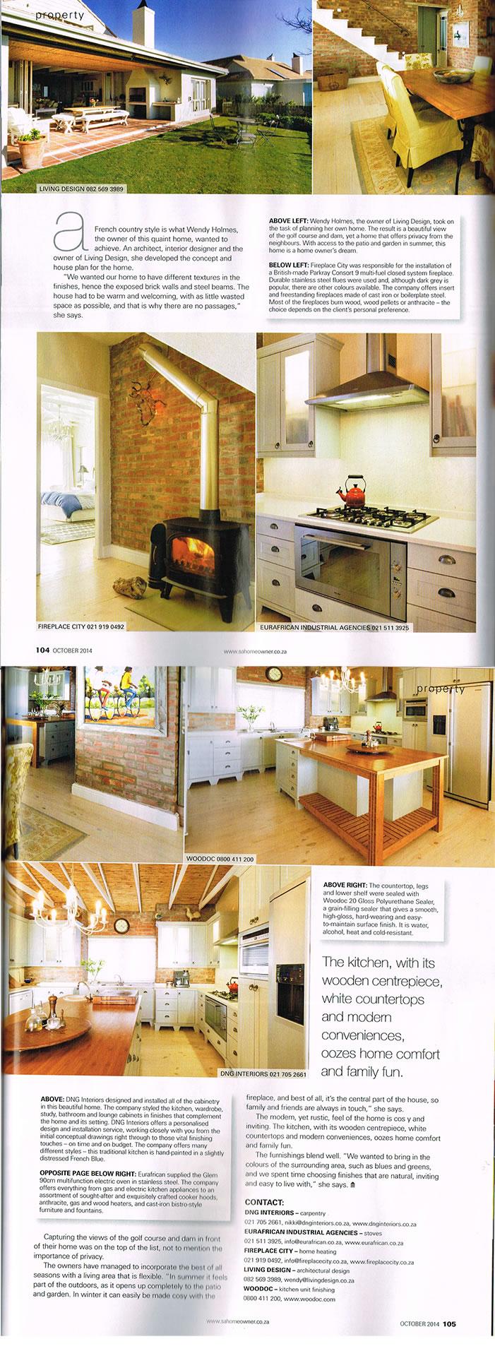 Living Design - magazine article