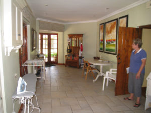 Dining area renovation
