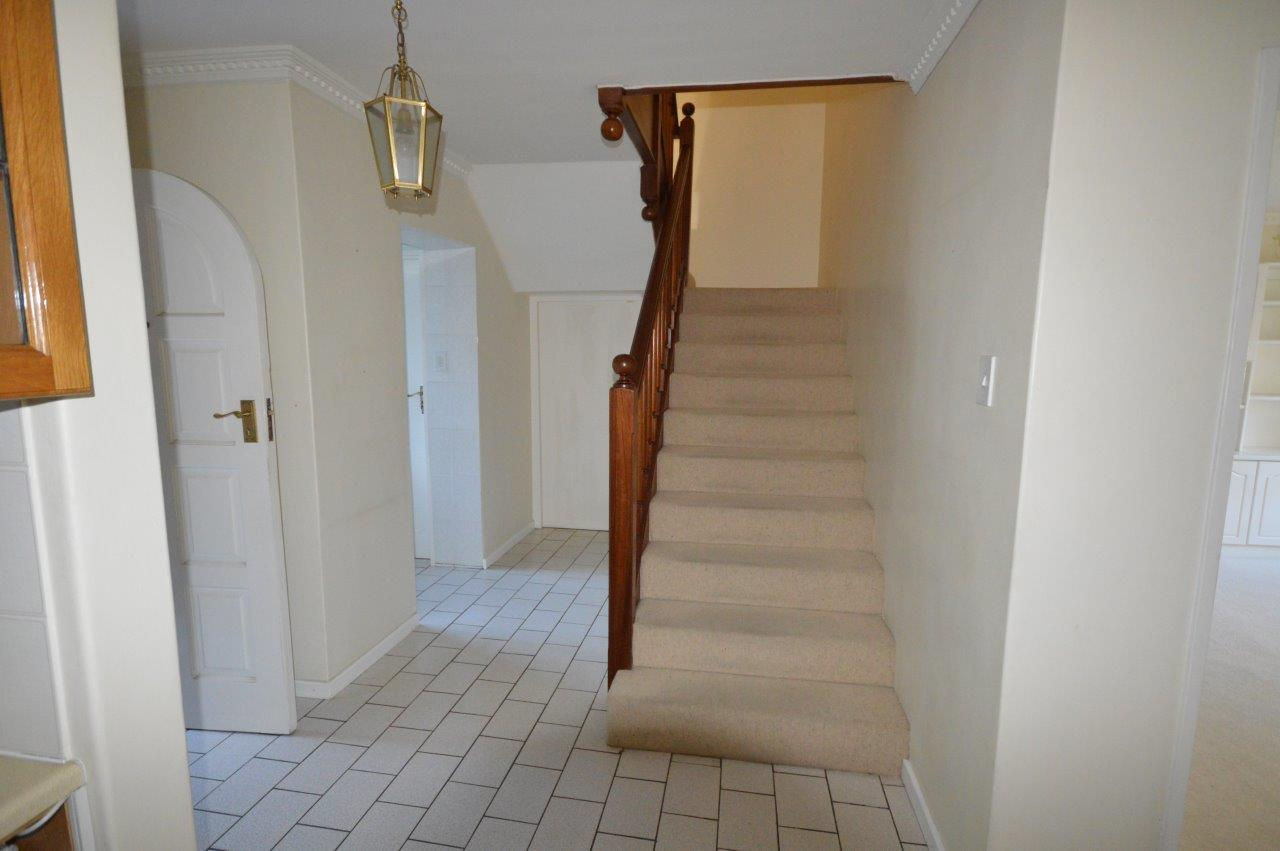 Entrance hall before renovation